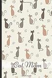 Die besten Mom Ever Sweatshirts - Cat Mom: Fun Journal and Notebook, Makes An Bewertungen