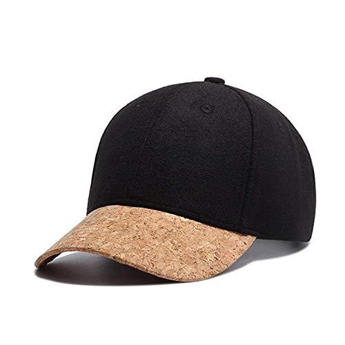 Mzdpp Herbst Kork Mode Einfache Männer Frauen Hut Hüte Baseballmütze Hip Hop Hysterese Klassische Caps Winter