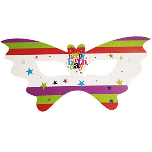 2 Packs Partei Augenmaske Party Supplies Favor, alles Gute zum Geburtstag (Silvester Favors Ideen)