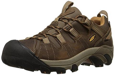 Keen Men Targhee Ii Wp Low Rise Hiking Boots, Brown (Cascade Brown/Brown Sugar), 8 UK 42 EU