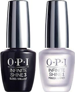 Opi Schritt (OPI Infinite Shine duo - TOP + BASE Gel Auswirkungen Nagellack 2 x 15ml - Sommer 2015)