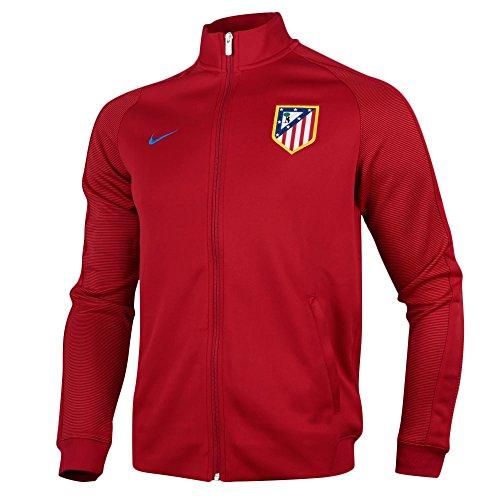 Nike ATM M NSW N98 TRK JKT AUT - Chaqueta Atlético de Madrid para hombre, color rojo, talla S