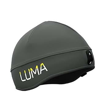 LUMA ACTIVE LED Licht Mütze Grau L/XL