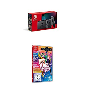 Nintendo Switch Konsole – Grau (2019 Edition) + Just Dance 2020 (Switch)
