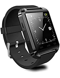 Rcool Smartwatch Mate Teléfono Bluetooth 4.0 para Android HTC Samsung (Negro)