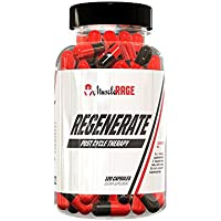 Muscle Rage Regenerate Testosterone Supplement Capsules, 120-Count
