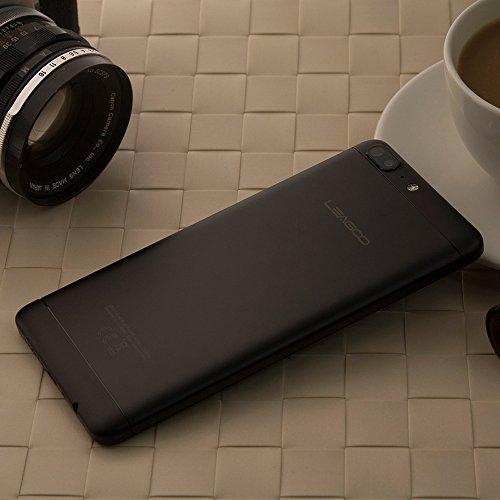 Leagoo T5 4G Phablet 5 5 pulgadas Android 7 0 MTK6750T Octa Core 1 5GHz 4GB RAM 64GB ROM 13 0MP   5 0MP C  maras Traseras C  mara Digital Esc  ner de