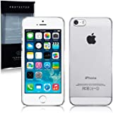 Call Candy Slim Fit Snap On Case for iPhone 5S - Clear