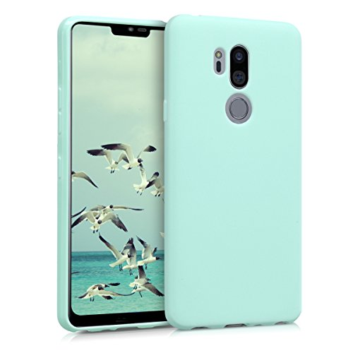 kwmobile LG G7 ThinQ/Fit/One Hülle - Handyhülle für LG G7 ThinQ/Fit/One - Handy Case in Mintgrün matt