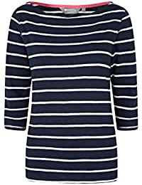 Mountain Warehouse St Ives Womens Crew Neck Top - 100% Cotton Summer Tshirt, Lightweight, Breathable Ladies Tee, Casual, Easy Care Blouse -for Spring Travelling, Walking