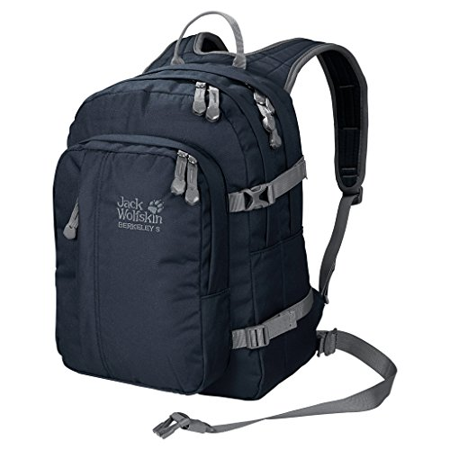 Jack Wolfskin Unisex - Kinder Rucksack Berkeley S, night blue, 38 x 29 x 28 cm, 23 liters, 25336-1010