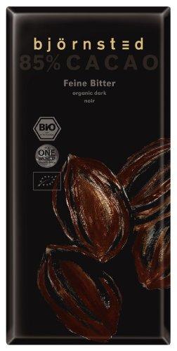 Bio Feine Bitter Chocolade mit 85 % Cacao , 5er Pack (5 x 100 g)
