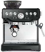 ماكينة صنع الاسبريسو باريستا اكسبريس من بريفيلي، اسود