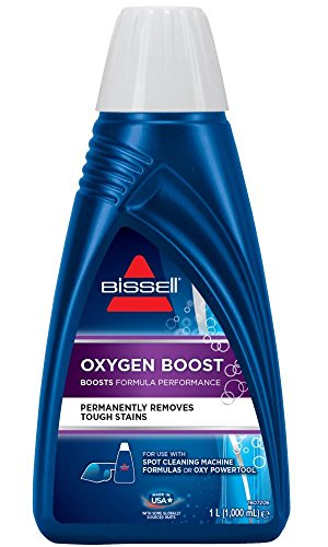 Bissell 1134N Oxygen Boost Reinigungsmittel für alle Fleckenreinigungsgeräte, geeignet für SpotClean/SpotClean Pro, 1 x 1 Liter
