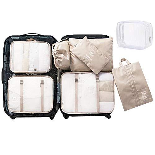 WantGor - Organizador para maletas  Creamy-White