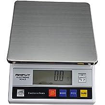 OUKANING Báscula Digital de Cocina Peso de Cocina 7.5 Kg/ 0.1 g, Acero Inoxidable