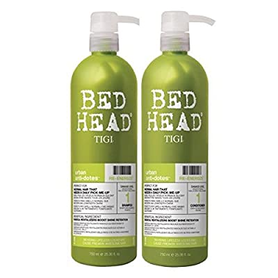 TIGI - BedHead Urban anti+dotes Level 1 - Re-Energize Shampoo & Conditioner Tween Duo 2x 750ml from Tigi