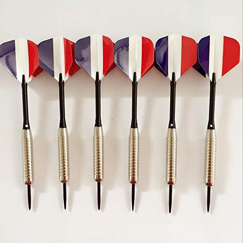 6 aluminiumlegierung professionelle Darts Nadel Wettbewerb Grade gerade Nadel typ Darts alle Metall fliegen Standardaluminiumlegierung Darts (Frankreich)