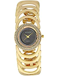 0247abaf29 Skylofts 18K Gold Plated Women Watches - Wrist Watches for Girls Watch  (Black)