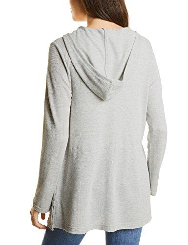 Street One T-Shirt Donna Grau (Cyber Grey Melange 10767)