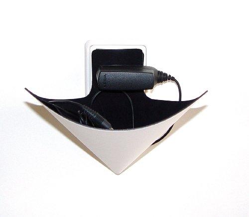 GeschenkIdeen.Haus - Smartphone-Halterung für die Steckdose - XXD Load-Ding in schwarz