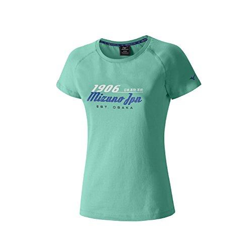 Mizuno 1906 Heritage Women's Course à Pied T-Shirt - AW16 Navy blue