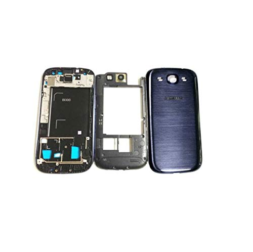 YOUNICK Replacement Full Body Housing Panel for Samsung Galaxy S3 i9300-(Black)