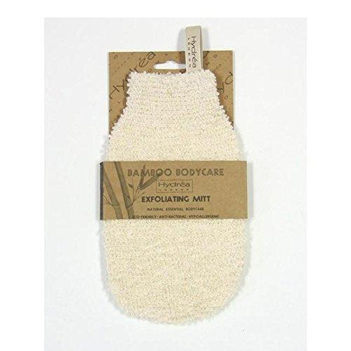 Hydrea Bambou London Exfoliant Doux Gant, Douce Texture / Moyen
