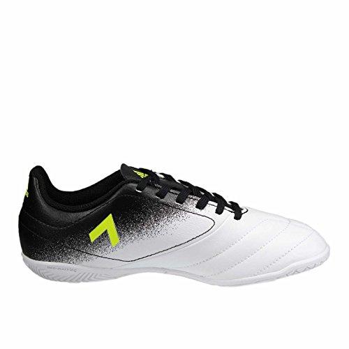 adidas Ace 17.4 In, Chaussures de Football Compétition mixte enfant Bleu (Energy Aqua/footwear White/legend Ink)
