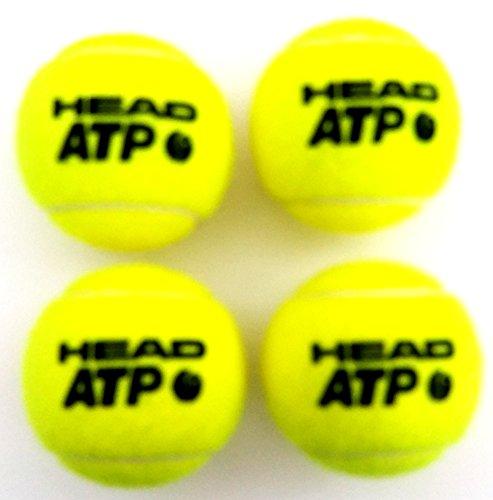 HEAD ATP DL 4er Pack - Tennisbälle Atp Head