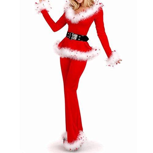 ON SALE! Frauen sexy Geheimnis Santa Kostüm / Frau Fräulein christmas santa Kostüm Kostüm Outfit