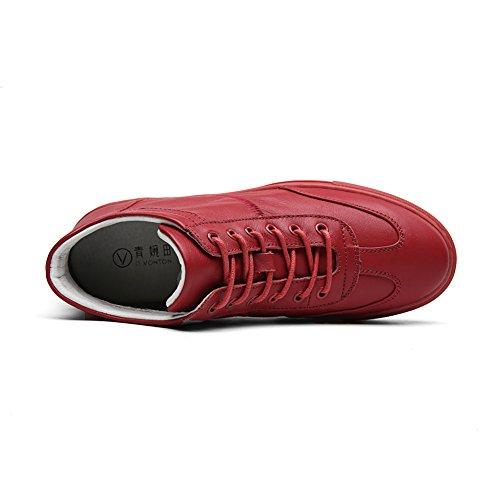 automne et d'hiver haute aide chaussures/Chaussures blancs occasionnelles Mesdames avec plat/ Joker B