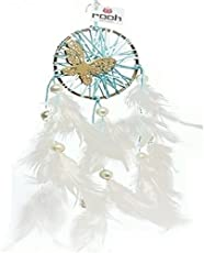 Rooh Dream Catcher ~ Vintage Butterfly ~ Handmade Hangings for Positivity (Can be used as Home Décor Accents, Wall Hangings, Garden, Car, Outdoor, Bedroom, Key chain, Meditation Room, Yoga Temple, Windchime)