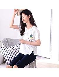 Ropa de dormir El algodón de manga corta de cinco pantalones de verano se puede usar fuera del pijama de dibujos animados para niñas Servicio…