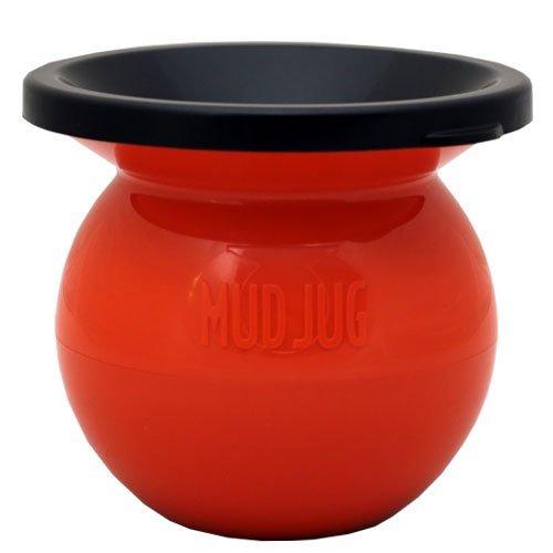 The Mud Jug - Orange - Spittoon Cuspidor for Discrete Smokeless Chew Disposal by MudJug
