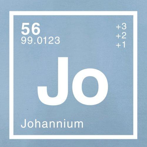 Johann Periodensystem - Herren T-Shirt - 13 Farben Himmelblau