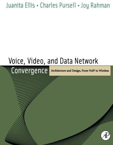 Voice, Video, and Data Network Convergence: Architecture and Design, From VoIP to Wireless by Juanita Ellis (2003-08-01)
