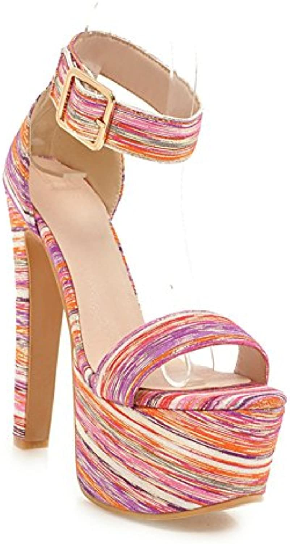 HN Shoes Mujer Tacón Alto Sandalias Para Mujer Plataforma Tacones Altos Zapatos Boda Fiesta Vestido De Trabajo...
