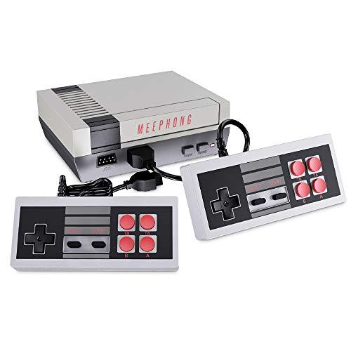 MEEPHONG Consola De Juegos Retro, HDMI HD NES Mini Consola De Juegos C