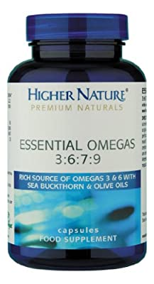 Higher Nature Essential Omega 3:6:7:9 - Pack of 90 Capsules