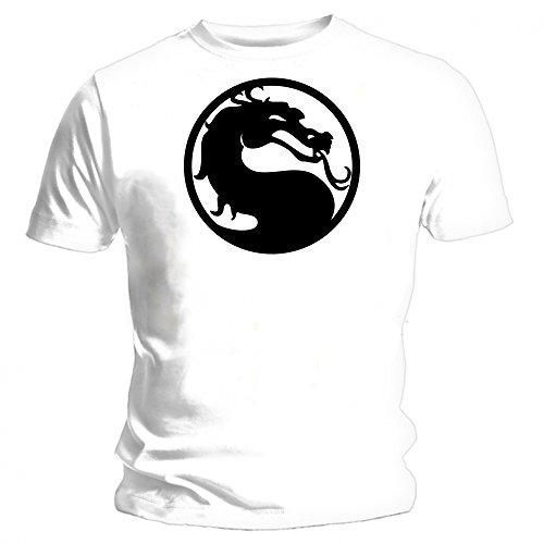 Mortal Kombat - NEW T-camiseta de manga corta Unisex especial para gaming...