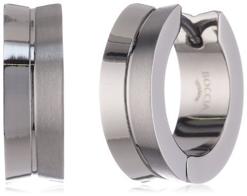 Boccia Titanium Scharnier-Creolen 0511-02