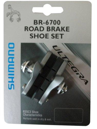 Shimano Y8G698080 - Pattini freno BR6700, colore: Acciaio
