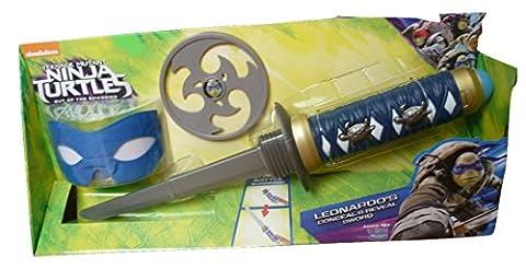 Teenage Mutant Ninja Turtles Roleplay Toy - Leonardo Mask Ninja Star and Katana - TMNT Costume