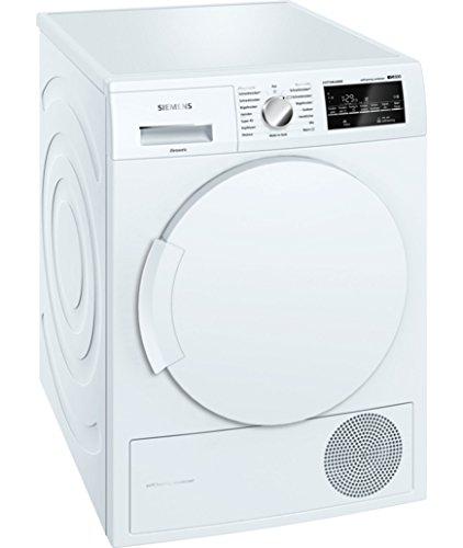 Siemens WT43W4ED Independiente Carga frontal 8kg A++ Color blanco - Secadora (Independiente, Carga frontal, Condensación, A++, Color blanco,