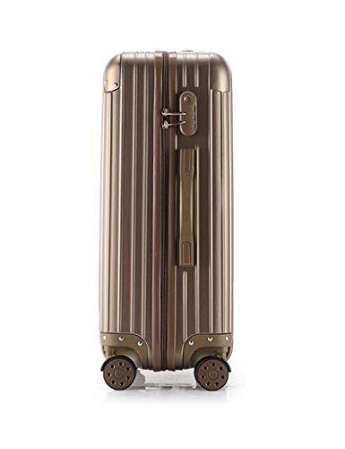 360 ° 4 Runden Drehen Koffer Einstieg Box Trolley Taschen Mode Gepäck Box ( Farbe : 2 , größe : 20 inch ) 3