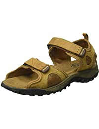 Woodland Men's Camel Leateher Sandal -9 UK/India (43 EU)-(GD 0827110WSL)