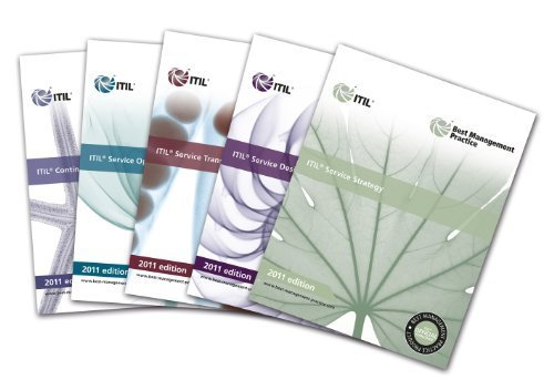ITIL Lifecycle Suite 2011 Edition: ITIL Service Strategy 2011 / ITIL Service Design 2011 / ITIL Service Transition 2011 / ITIL Service Operation 2011 / ITIL Continual Service Improvement 2011 by Cabinet Office ( 2011 ) Paperback