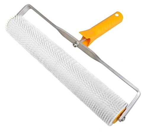 spiked-aeration-roller-400mm-latex-self-levelling-11mm-spikes-screeding-flooring