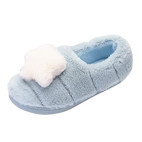 ➤Refill➤Herren Damen Hausschuhe Memory Foam Winter Pantoffeln Wärme Halten House Schuhe Drinnen und Draußen Wärme Bequem Plüsch Pantoffeln rutschfeste Kuschelig Slippers